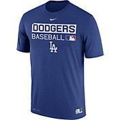 Nike Men's Los Angeles Dodgers Dri-FIT Authentic Collection Royal Legend T-Shirt