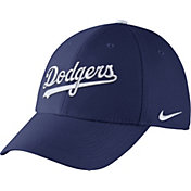 Nike Men's Los Angeles Dodgers Dri-FIT Royal Legacy 91 Swoosh Flex Hat