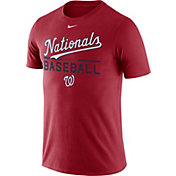 Nike Men's Washington Nationals Practice Red T-Shirt