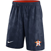 Nike Men's Houston Astros Dri-FIT Navy Knit Shorts