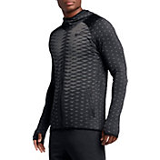 Nike Men's Hyper Dry Max Long Sleeve Full Zip Shirt