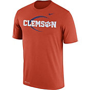 Nike Men's Clemson Tigers Orange Football Icon Legend T-Shirt