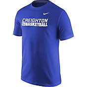 Nike Men's Creighton Bluejays Blue Basketball Practice T-Shirt