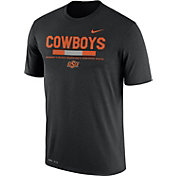 Nike Men's Oklahoma State Cowboys Football Staff Legend Black T-Shirt