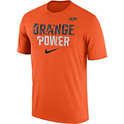 Nike Men's Oklahoma State Cowboys Orange Ignite Verbiage Legend T-Shirt