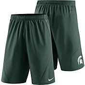 Nike Men's Michigan State Spartans Green Fly XL 5.0 Football Sideline Shorts