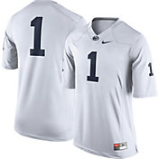 Nike Men's Penn State Nittany Lions White #1 Limited Football Jersey
