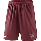 Nike Men's Stanford Cardinal Cardinal Knit Football Sideline Performance Shorts