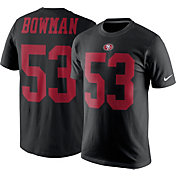 Nike Men's San Francisco 49ers NaVorro Bowman #53 Pride Black T-Shirt