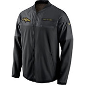 Nike Men's Denver Broncos Salute to Service 2016 Hybrid Black Jacket
