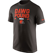 Nike Men's Cleveland Browns Local Verbiage Brown T-Shirt