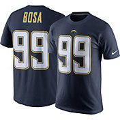 Nike Men's Los Angeles Chargers Joey Bosa #99 Pride Navy T-Shirt
