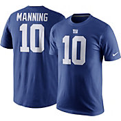 Nike Men's New York Giants Eli Manning #10 Pride Royal T-Shirt