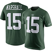 Nike Men's New York Jets Brandon Marshall #15 Pride Green T-Shirt