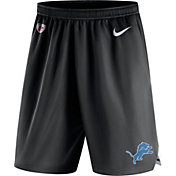 Nike Men's Detroit Lions Dry Knit Black Performance Shorts