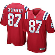 Nike Men's Alternate Game Jersey New England Patriots Rob Gronkowski #87