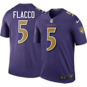 Nike Men's Color Rush Baltimore Ravens Joe Flacco #5 Legend Jersey