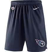 Nike Men's Tennessee Titans Dry Knit Navy Performance Shorts