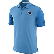 Nike Men's Tennessee Titans Sideline 2017 Team Issue Blue Polo