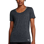 Nike Women's Dry Legend Scoop Veneer T-Shirt