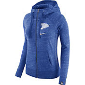 Nike Women's Kentucky Wildcats Blue Vintage Full-Zip Hoodie