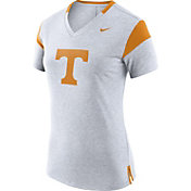 Nike Women's Tennessee Volunteers Fan White V-Neck T-Shirt