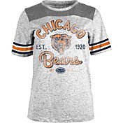 5th & Ocean Women's Chicago Bears Peppercorn Throwback Grey T-Shirt