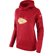 Nike Women's Kansas City Chiefs Therma-FIT Red Performance Hoodie
