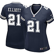 Nike Women's Home Game Jersey Dallas Cowboys Ezekiel Elliott #21
