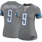 Nike Women's Color Rush Legend Jersey Detroit Lions Matthew Stafford #9