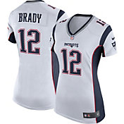 Nike Women's Away Game Jersey New England Patriots Tom Brady #12