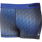 Nike Women's 3'' Pro Cool Stairstep Printed Shorts