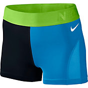 Nike Women's 3'' Pro Hypercool Colorblock Shorts