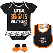 NFL Team Apparel Infant Cincinnati Bengals Bib & Booty Set