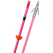 Fin-Finder Raiderette Pro Bowfishing Arrow with Riptide Pro Point – Pink