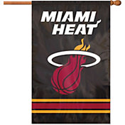 Party Animal Miami Heat Applique Banner Flag