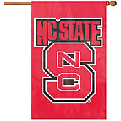 Party Animal North Carolina State Wolfpack Applique Banner Flag