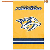 Party Animal Nashville Predators Applique Banner Flag