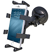 RAM Mounts Twist Lock Suction Cup Mount with Universal Finger-Grip Phone/Radio Cradle