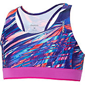 Reebok Girls' Warm Weather Printed Sports Bra