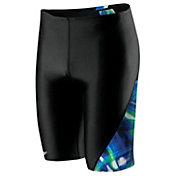 Speedo Men's Laser Blast Spliced Jammer
