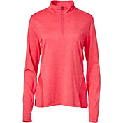 Slazenger Women's Tech Collection Space Dye Quarter-Zip Golf Pullover