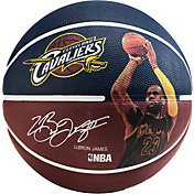 Spalding Cleveland Cavaliers LeBron James Player Basketball