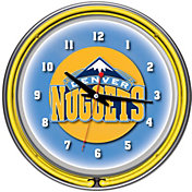 Trademark Games Denver Nuggets 14'' Neon Clock