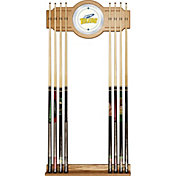 Trademark Games Toledo Rockets 2-Piece Wood and Mirror Wall Cue Rack
