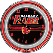 Trademark Games Calgary Flames 14'' Neon Clock