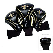 Team Golf New Orleans Saints 3-Pack Contour Headcovers