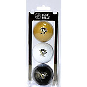 Team Golf Pittsburgh Penguins Three Pack Golf Ball Set