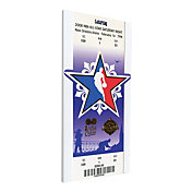 That's My Ticket 2008 NBA Slam Dunk Contest Canvas Ticket