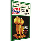 That's My Ticket Chicago Bulls 1993 NBA Finals Canvas Ticket